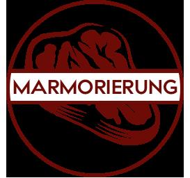 Einzigartige Marmorierung