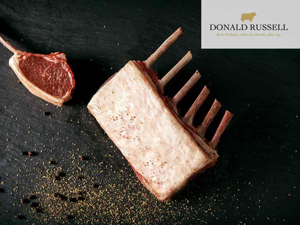 Lammfleisch aus Schottland